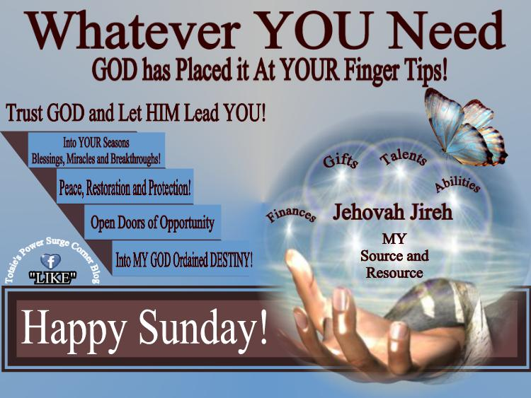 Sunday Wishes – Power Surge Corner Blog