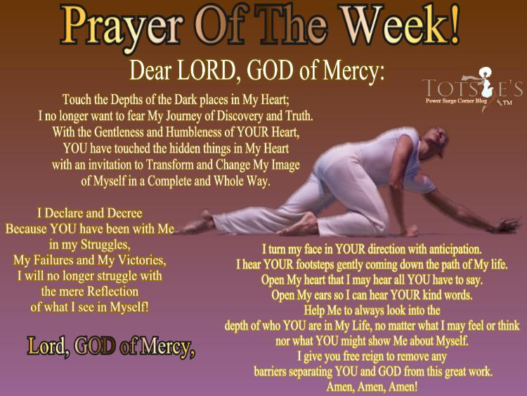 IT'S PRAYING TIME ~ Prayer Of The Week! – Totsies Power Surge